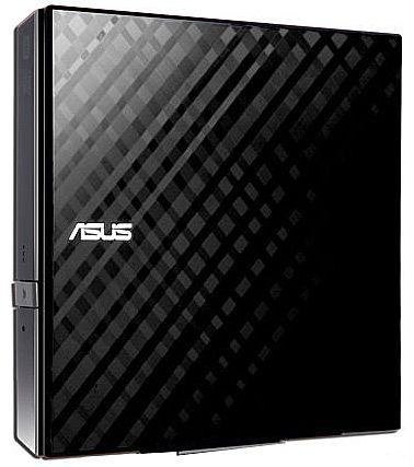 Gravador - Gravador DVD Externo Asus Slim - Portátil - USB - SDRW-08D2S-U