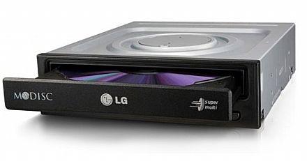 Gravador - Gravador DVD LG 24x SATA - OEM - Liquidação - sem caixa