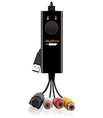 Captura de TV/Video - USB Captura de Video Mygica EzGrabber 2 - Gravação por Video Componente ou S-Video