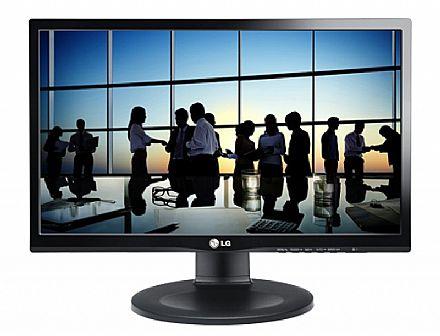 """Monitor - Monitor 19.5"""" LG 20M35PD-M - Painel IPS - HD - 5ms - Regulagem de Altura, Rotação e Inclinação - VGA/DVI - Open BOX"""