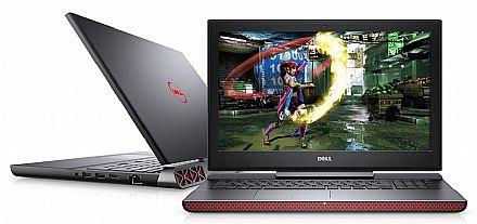 "Notebook - Notebook Dell Gaming Edition i15-7567-A20P - Tela 15.6"" TN Full HD, Intel i7 7700HQ, 16GB, SSD 240GB, GeForce GTX 1050 Ti 4GB, Windows 10 - Outlet"