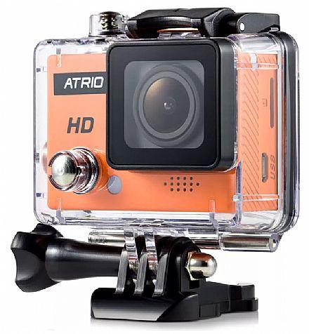 Câmera Digital - Filmadora Multilaser Atrio Fullsport Cam HD - 5 Mega Pixels - Gravação em HD - Case à prova d`água - DC186