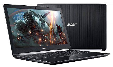 "Notebook - Notebook Acer Aspire Gamer A515-41G-13U1 - Tela 15.6"", AMD A12-9720P, 8GB, HD 1TB, Video AMD Radeon™ RX 540 2GB, Windows 10"