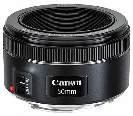 Câmera Digital - Lente EF 50mm para Canon - F/1.8 STM