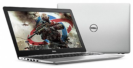 "Notebook - Notebook Dell Inspiron i15-5570-A20C - Tela 15.6"", Intel i5 8250U, 8GB, SSD 480GB, Radeon 530 2GB, Windows 10"
