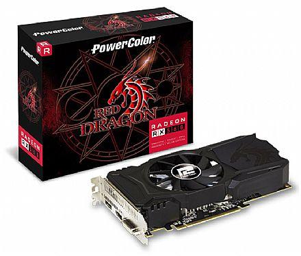 Placa de Vídeo - AMD Radeon RX 560 2GB GDDR5 128bits - AXRX - PowerColor 2GBD5-DHAV2