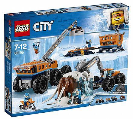 Brinquedo - LEGO City - Base de Exploração Móvel do Ártico - 60195