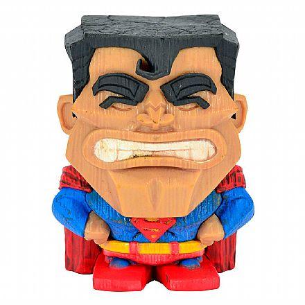Brinquedo - Action Figure - DC Comics - DC Teekeez: Wave 1 - Superman - Cryptozoic29137