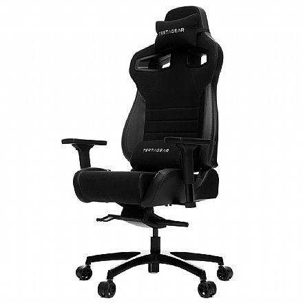 Cadeiras - Cadeira Gamer Vertagear Racing Series P-Line VG-PL4500_BK - Encosto Reclinável de 140º - Construção em Aço - Preta