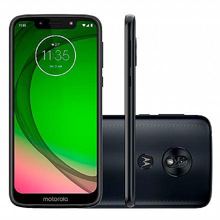 """Smartphone - Smartphone Motorola Moto G7 Play - Tela 5.7"""" HD+, 32GB, Dual Chip 4G, Câmera 13MP, Leitor de Digital - Indigo - XT1952-2"""