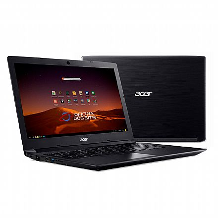 "Notebook - Notebook Acer Aspire A315-53-5100 - Tela 15.6"", Intel i5 7200U, 12GB, HD 1TB, Linux"