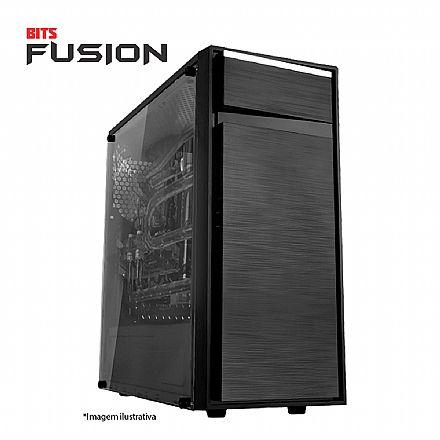 Computador Gamer - PC Gamer Bits FUSION - Intel® i5, 8GB, HD 500GB, Geforce GTX 1650 4GB, Windows 10 PRO - Seminovo - Garantia 2 anos