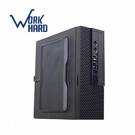 Computador - Computador Bits WorkHard ITX - Intel Celeron J1800, Dual Core, 8GB, SSD 240GB, FreeDos - 2 Anos de garantia