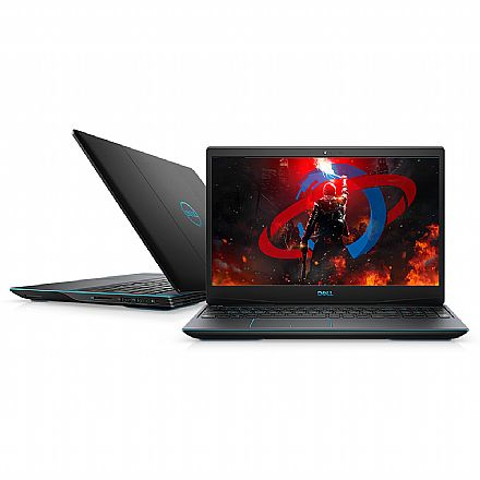 "Notebook - Notebook Dell Gaming G3-3590-A30P - Tela 15.6"" Full HD IPS, Intel i7 9750H, 32GB, HD 1TB + SSD 128GB, GeForce GTX 1660 Ti 6GB, Windows 10"