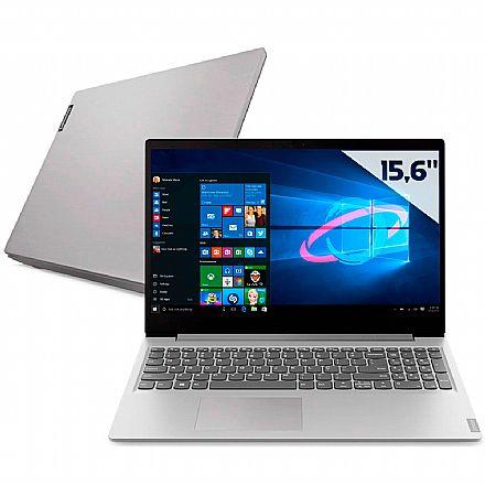 "Notebook - Notebook Lenovo Ideapad S145 - Tela 15.6"", Intel i3 1005G1, 8GB, SSD 256GB + HD 1TB, Windows 10 - 82DJ0002BR"