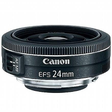Câmera Digital - Lente EF-S 24mm para Canon - F/2.8 STM