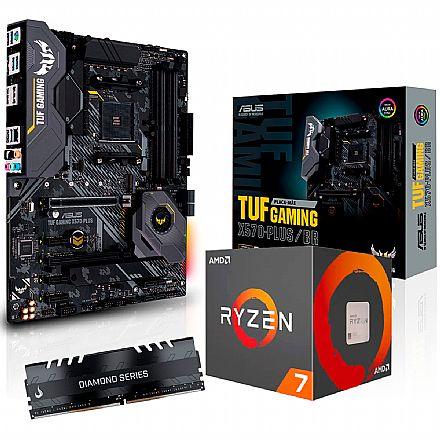 Kit Upgrade - Kit Upgrade AMD Ryzen™ 7 3800X + Asus TUF GAMING X570 PLUS/BR