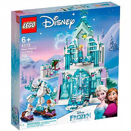 Brinquedo - LEGO Disney Princess - O Palácio de Gelo Mágico da Elsa - 43172