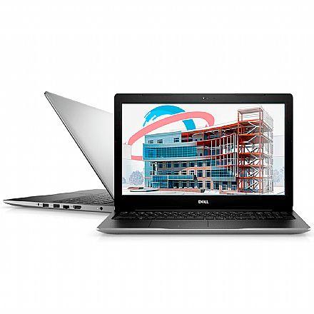 "Notebook - Notebook Dell Inspiron i15-3583-MS110S - Tela 15.6"", Intel i7 8565U, 16GB, SSD 128GB + HD 1TB, AMD Radeon 520, Windows 10"