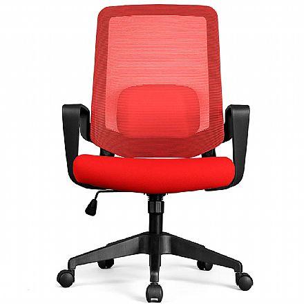 Cadeiras - Cadeira de Escritório DT3 Office Verana V2 - Vermelha - 12076-6