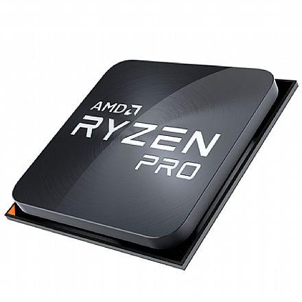 Processador AMD - AMD Ryzen 3 2200G Pro - 3.5GHz (Turbo 3.7GHz) - Cache 6MB - AM4 - Radeon Vega 8 - YD220BC5FBMPK - TRAY