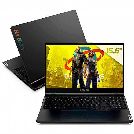 """Notebook - Notebook Lenovo Gamer Legion 5i - Tela 15.6"""" Full HD - Intel i7 10750H, 64GB, SSD 1TB + HD 1TB, GeForce RTX 2060, Windows 10 - 82CF0005BR"""