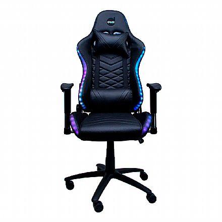 Cadeiras - Cadeira Gamer Dazz Galaxy Thunder RGB - Encosto Reclinável - Construção em Aço - 62000002