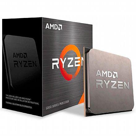 Processador AMD - AMD Ryzen 7 5800X Octa Core - 16 Threads - 3.8GHz (Turbo 4.7GHz) - Cache 36MB - AM4 - 100-100000063WOF