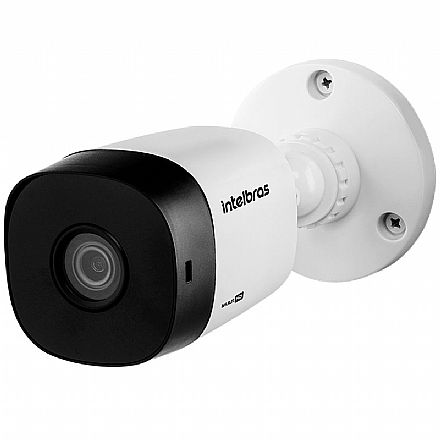 Segurança CFTV - Câmera de Segurança Bullet - Lente 3.6mm - com Infra Vermelho - HDCVI/AHD/HDTV- Intelbras VHD 1010 B G6