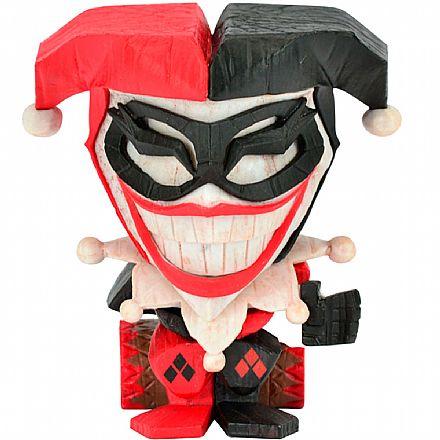 Brinquedo - Action Figure - DC Comics - Arlequina - Teekeez - 29135