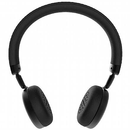 Fone de Ouvido - Headset sem Fio Intelbras Focus Style - Bluetooth - Microfone - Preto - 4010011