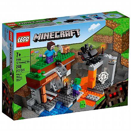 Brinquedo - LEGO Minecraft - A Mina Abandonada - 21166