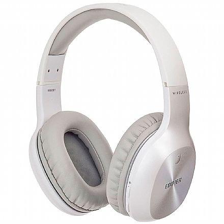 Fone de Ouvido - Fone de Ouvido Bluetooth Edifier W800BT Plus - atpX - com Microfone - até 55 horas de bateria - Branco