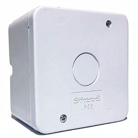Segurança CFTV - Caixa de Sobrepor CFTV Stilus - Branca