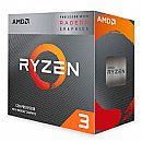 AMD Ryzen 3 3200G Quad Core - 4 Threads - 3.6GHz (4.0GHz Turbo) - AM4 - TDP 65W - YD320GC5FIBOX