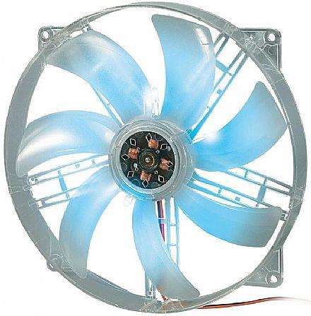 Cooler 180x180mm Akasa c/ LED Azul - AK-F1825SM-CB