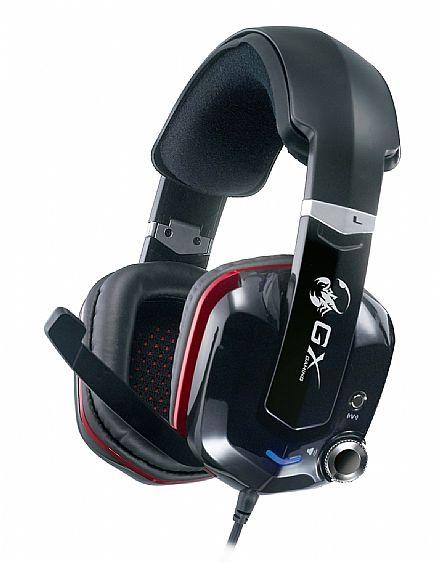Headset Genius Gaming GX Cavimanus HS-G700V - Isolamento acústico - 7.1 Canais - Conector USB - 31710043101