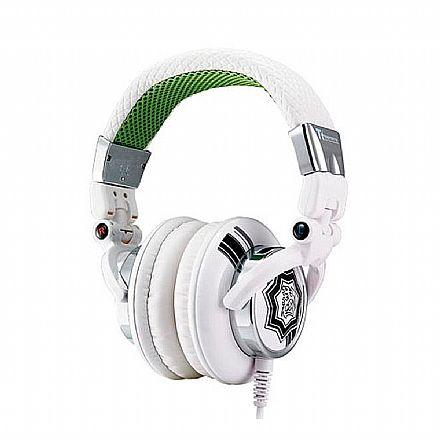 Fone de Ouvido Thermaltake TT eSports Dracco White - Conector 3.5mm - HT-DRA007OEWH