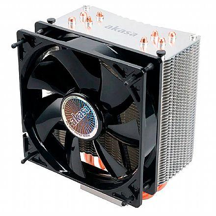 Cooler Akasa Nero 3 AK-CC4007EP01 (2011/1366/115X/775 e AMD)