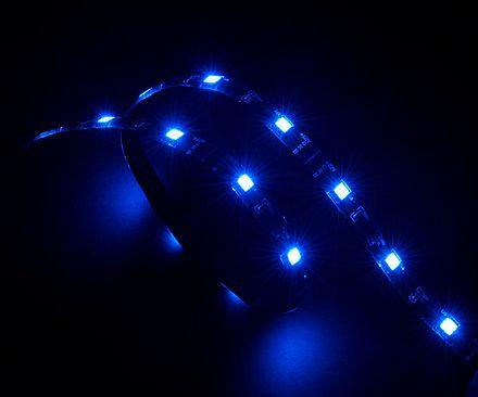Fita de LED Akasa Vegas - Azul - 60cm - AK-LD02-05BL