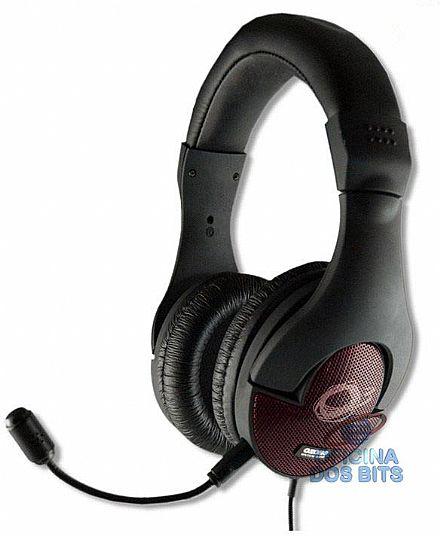 Headset Ozone Onda ST - com microfone ajustável - Conector 3.5mm - OZONDAST
