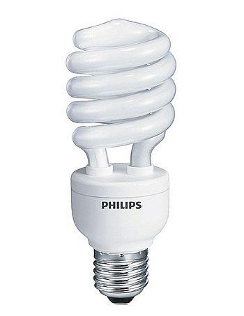 Lâmpada 23W Philips Eco Home 127V - Luz Branca - Espiral - Cor 6500k - soquete E27