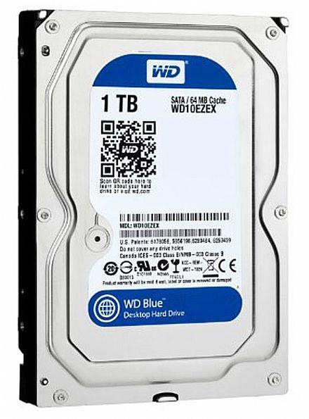 HD 1TB SATA - 7200RPM - 64MB Cache - Western Digital Blue - WD10EZEX
