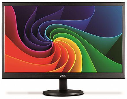 """Monitor 21.5"""" AOC E2270SWN LED - Full HD - furação VESA - 5ms"""
