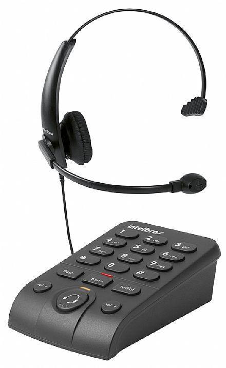 Telefone com Headset Intelbras HSB50 - Base Discadora