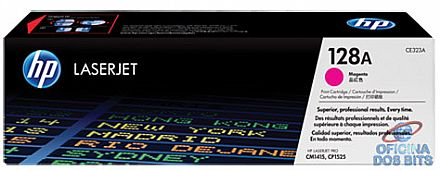 Toner HP 128A Magenta - CE323A - Para Laserjet CP1210, CP1215, CP1525, CP1525NW, CM1415FN, CM1415FNW