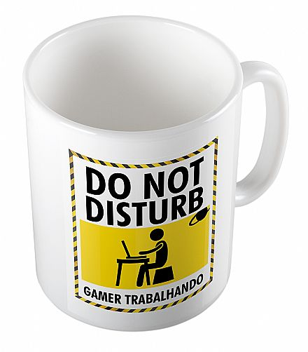 Caneca de porcelana - Do Not Disturb