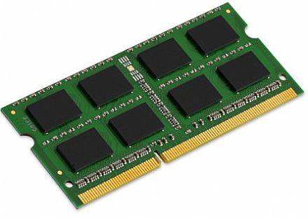 Memória SODIMM 8GB DDR3L 1333MHz - para Notebook - Low Voltage