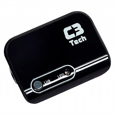 Receptor de Áudio Bluetooth C3Tech RB-084 - conector P2 3,5mm