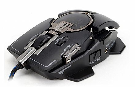 Mouse Gamer Laser Zalman - 8200dpi - USB - 10 botões de controle - filtro de ruído - ZM-GM4